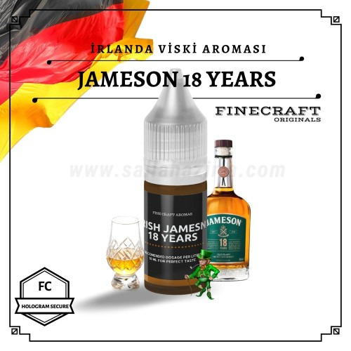 Jmeson 18 Years İrlanda Viski Aroması 10ML