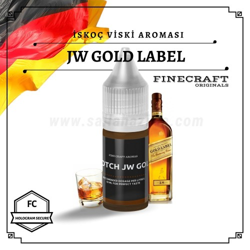 JW Gold Lbl Scotch Whiskey Aroması 10ML