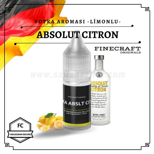 Abslt - Citron Vodka Aroması